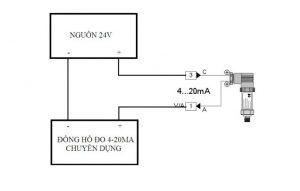 cách đo tín hiệu 4-20mA bằng đồng hồ chuyên dụng