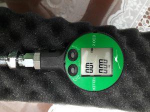Đồng hồ áp sau61t điện tử ECO2