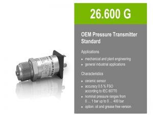 Cảm biến áp suất BD Sensor 26.600G