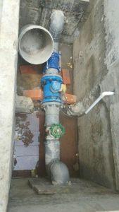 Hình ảnh cách lắp đặt đồng hồ đo lưu lượng nước thài